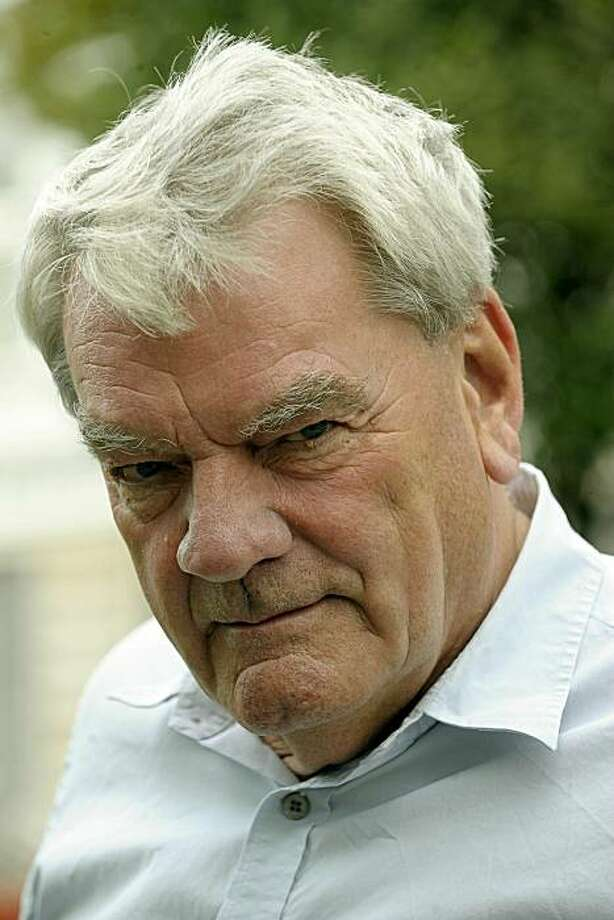 British historian David Irving poses for a photograph in Warsaw on September 21, 2010. British historian David Irving, who was jailed in Austria for denying the Holocaust, said he was in Poland to lead a tour of World War II sites, including the former Treblinka death camp. Photo: Janek Skarzynski, AFP/Getty Images