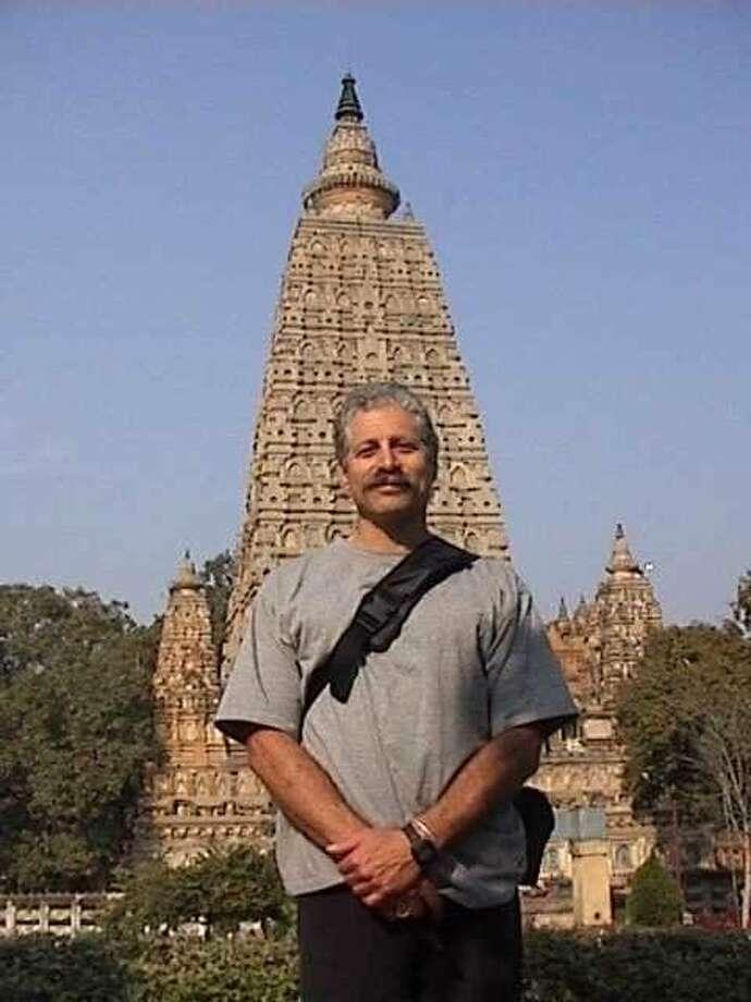 Greg Case of Oakland in Bodhgaya, India Photo: .