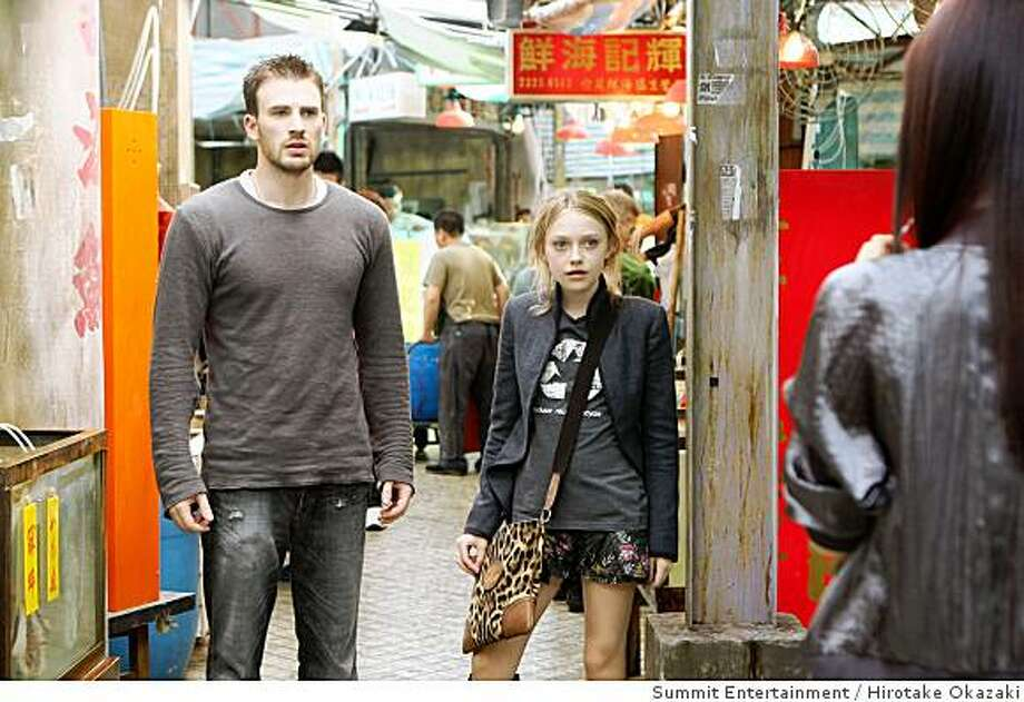 "Chris Evans and Dakota Fanning in ""Push."" Photo: Summit Entertainment, Hirotake Okazaki"