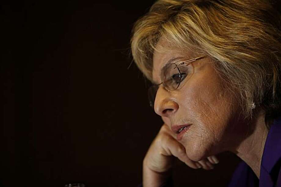 Barbara Boxer talks to Chronicle Editorial Board in the publisher's conference room in San Francisco, Calif. on Tuesday August 31, 2010. Photo: Lea Suzuki, The Chronicle