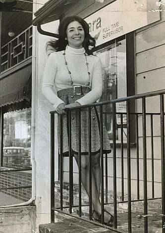 Barbara Boxer as a candidate for Marin County supervisor in 1972 Photo: Clem Albers, The Chronicle
