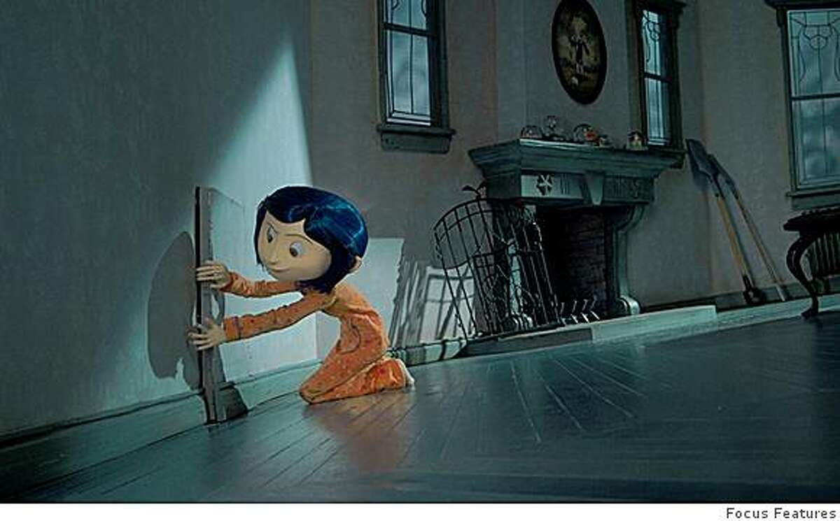 Animated Coraline Aims For A Real Life Feel