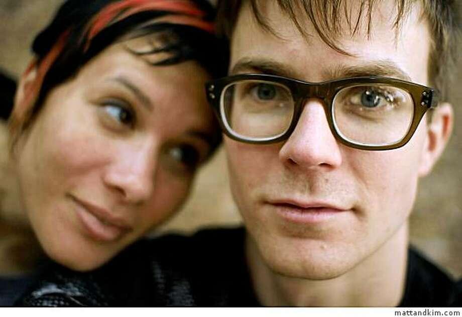 Brooklyn indie-rock duo Matt & Kim play Cafe Du Nord on Monday, Feb. 2. Photo: Mattandkim.com