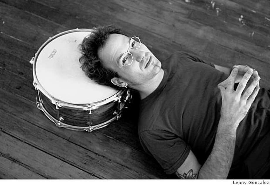 Bay Area drummer Scott Amendola Photo: Lenny Gonzalez, Www.scottamendola.com