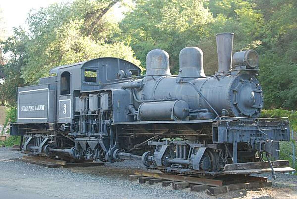 The Shay Engine #3 in Sonora (not in Railtown 1897) was put into operation in 1910 as part of the Sugar Pine Railway.