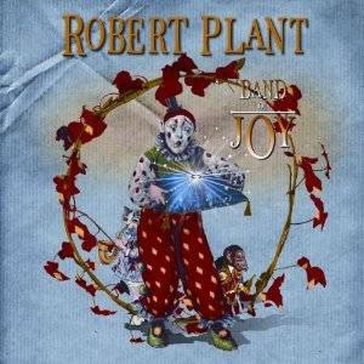 cd cover BAND OF JOY by ROBERT PLANT
