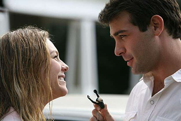 "In this publicity image released by Fox, James Wolk, right, and Eloise Mumford are shown in the series premiere of ""Lone Star,"" airing Monday, Sept. 20, 2010 at 9:00 p.m. EST Photo: Bill Matlock, AP"