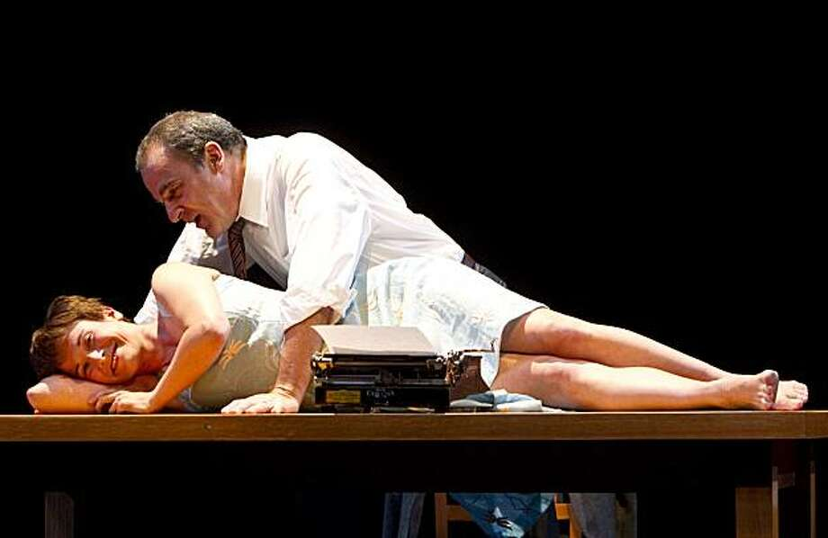 Mandy Patinkin plays Sid Silver in Compulsion with Hannah Cabell as Mrs. Silver at the Berkeley Repertory Theatre in Berkeley, Calif. on Sunday, September 12, 2010. Photo: Laura Morton, Special To The Chronicle