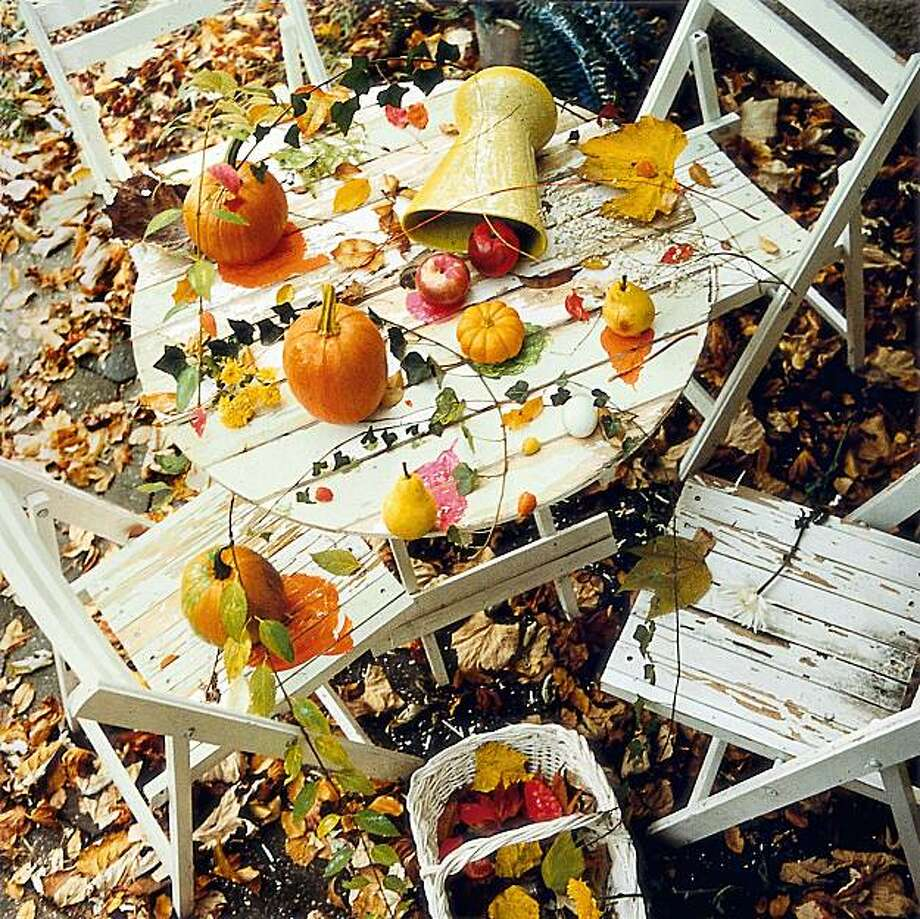 """Fall Still Life"" (2006) chromogenic print by Chris Schiavo Photo: Chris Schiavo, Cantor Arts Center, Stanford U."