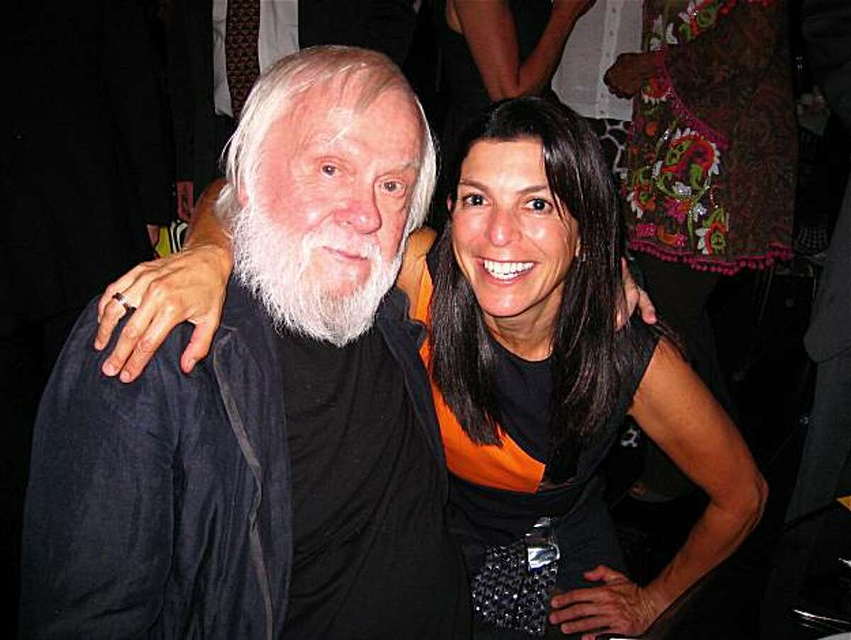 Artist John Baldessari and SFMOMA Trustee Susan Swig at a special dinner Sept. 15, 2010.