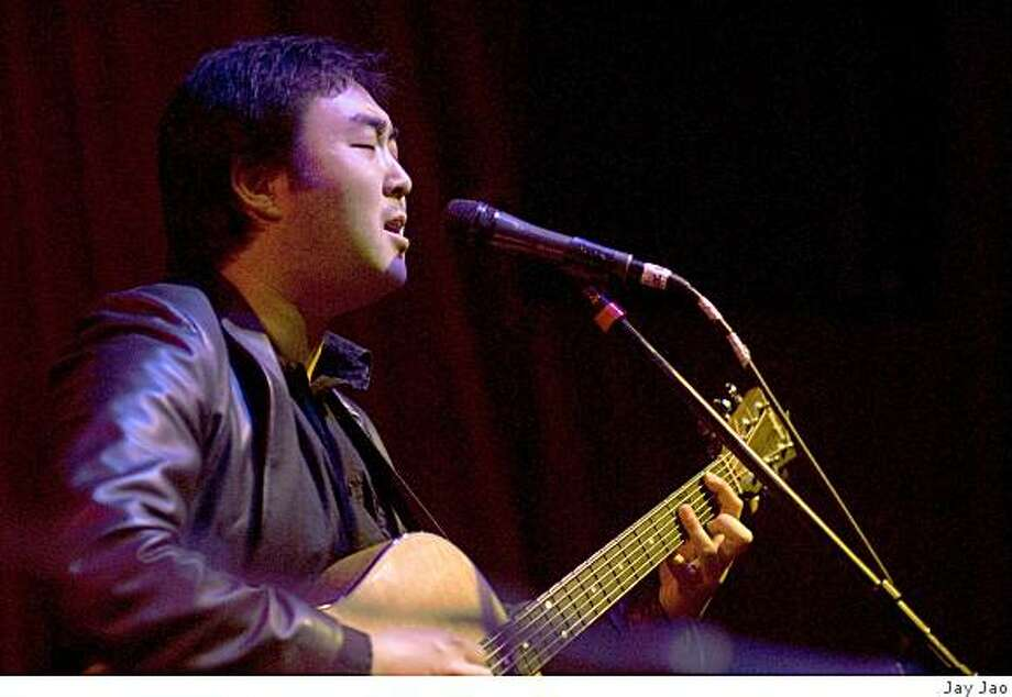 Pictured: San Francisco songwriter Goh Nakamura. Photo: Jay Jao