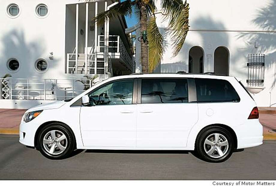 VW?s newest minivan targeted to young marrieds planning a family is the 2009 Routan. Photo: Courtesy Of Motor Matters
