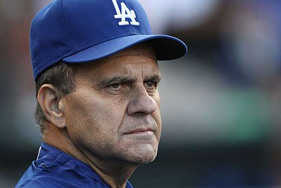 SAN FRANCISCO - AUGUST 10:  Manager Joe Torre of the Los Angeles Dodgers looks on against the San Francisco Giants during a Major League Baseball game at AT&T Park on August 10, 2009 in San Francisco, California.  (Photo by Jed Jacobsohn/Getty Images) Photo: Jed Jacobsohn, Getty Images