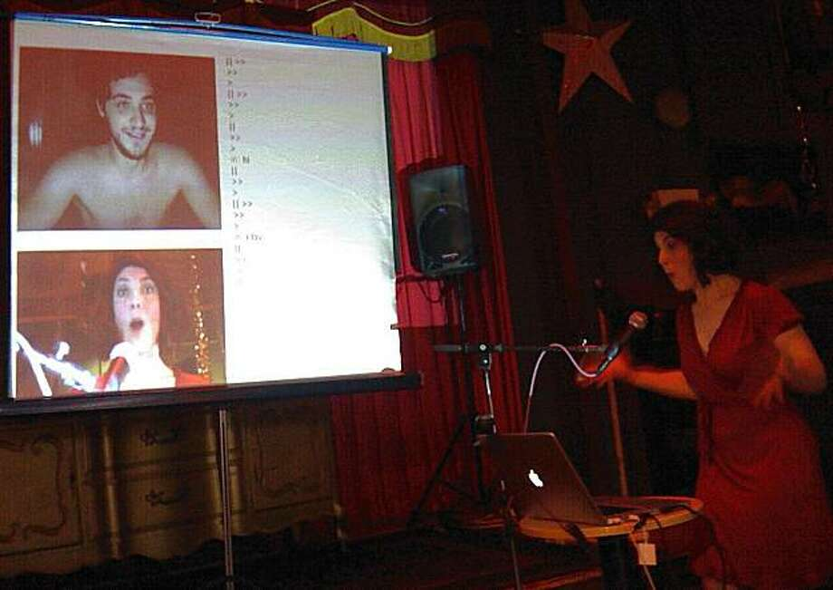 Chatroulette show. Photo: Courtesy Jonathan Bender