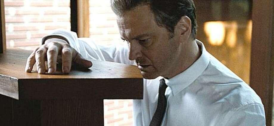"Colin Firth as George in Tom Ford's ""A Single Man.""  Colin Firth is George in Tom Ford's A Single Man. Photo: Eduard Grau, Weinstein Company"