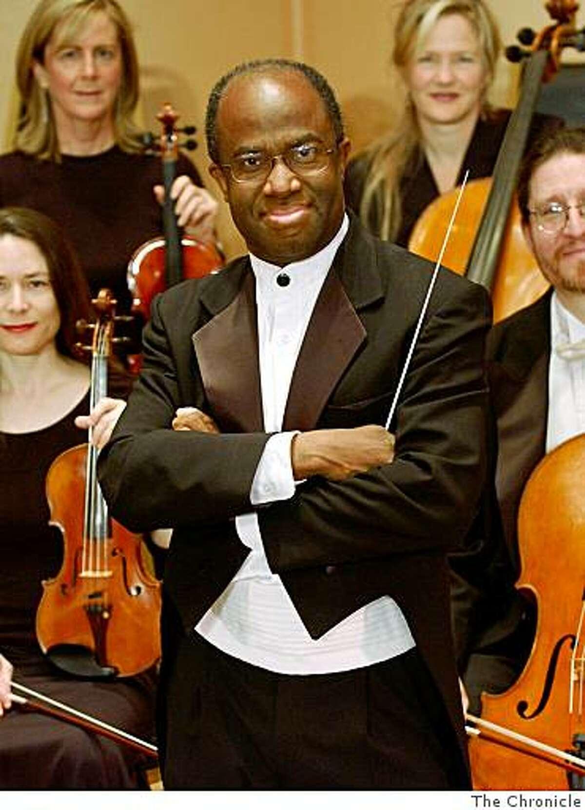 conductor Michael Morgan