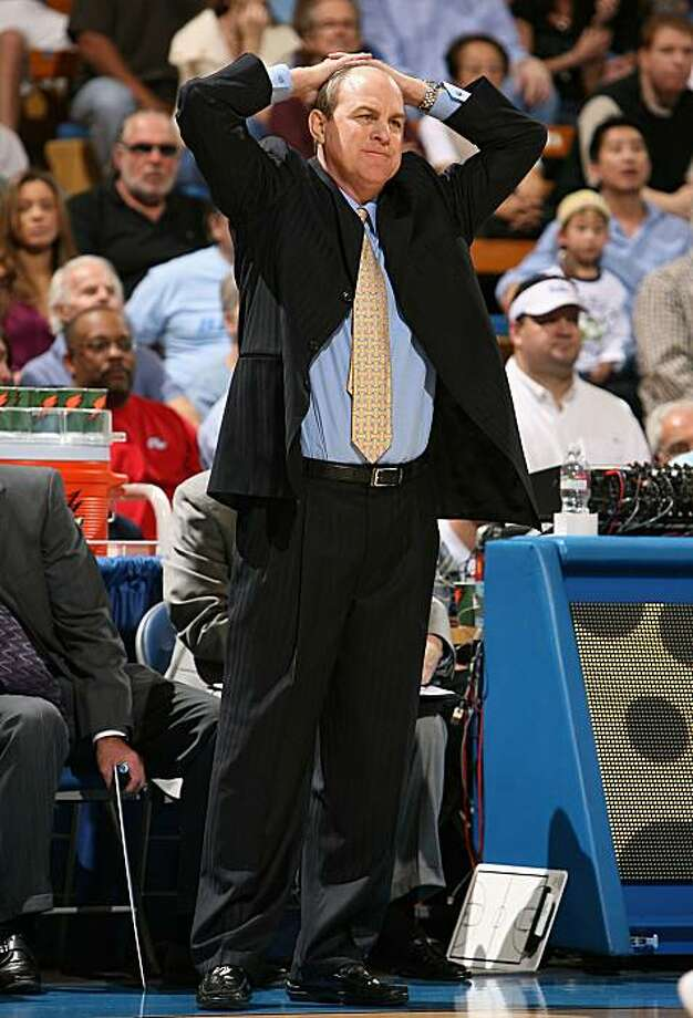 WESTWOOD, CA - JANUARY 17:  Head coach Ben Howland of the UCLA Bruins reacts during the college basketball game against the Arizona State Sun Devils at Pauley Pavilion on January 17, 2009 in Westwood, California.  (Photo by Christian Petersen/Getty Images) Photo: Christian Petersen, Getty Images