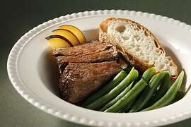 Braised Plummy Chuck Roast in San Francisco, Calif., on September 8, 2010. Food styled by Sophie Brickman.