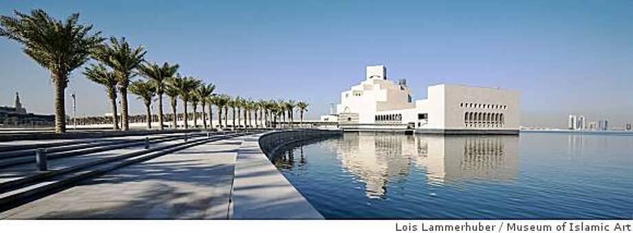 Museum of Islamic Art situated 60m off the Doha Corniche on an island made of reclaimed land Photo: Lois Lammerhuber, Museum Of Islamic Art