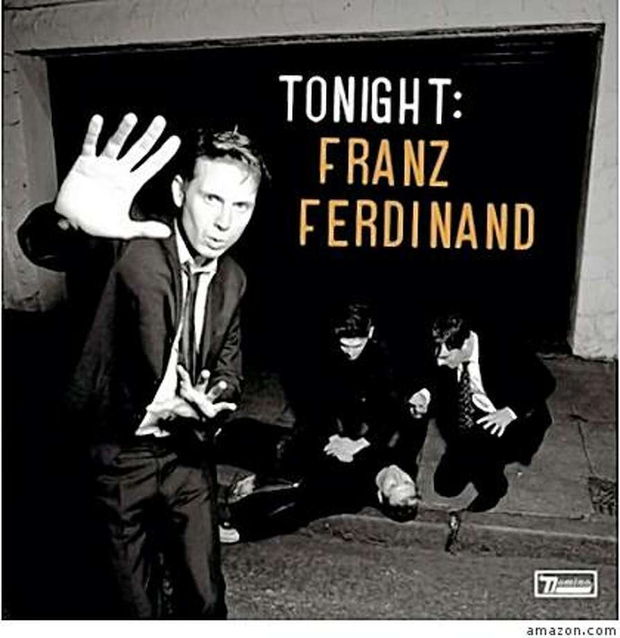 cd cover TONIGHT by FRANZ FERDINAND Photo: Amazon.com