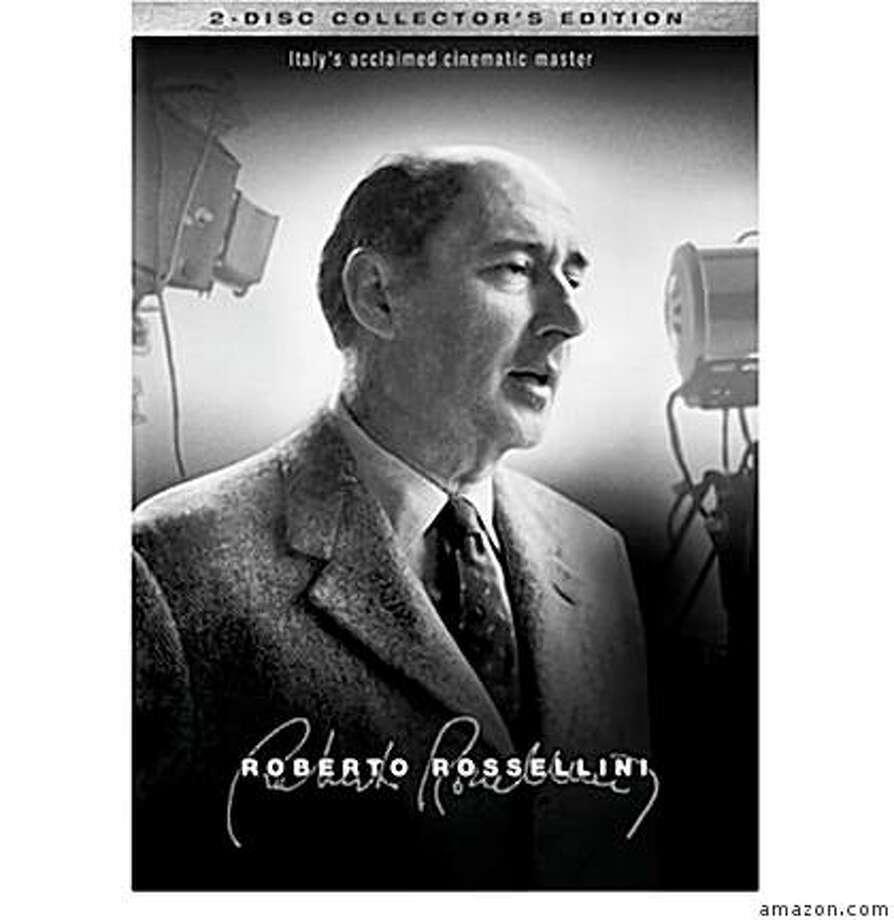 dvd cover: ROBERTO ROSSELLINI: COLLECTOR'S EDITION Photo: Amazon.com