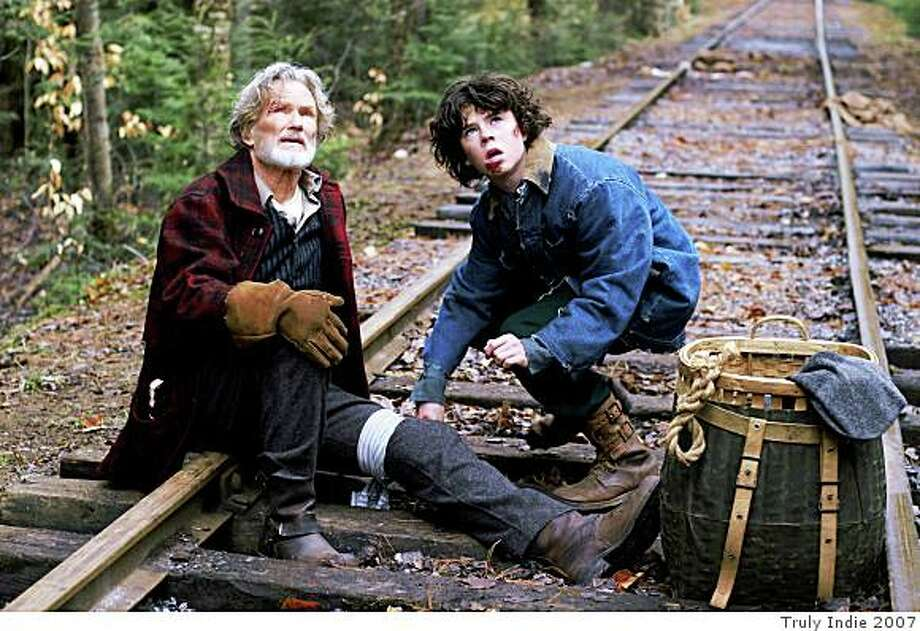 """Kris Kristofferson and Charlie McDermott in """"Disappearances."""" Photo: Truly Indie 2007"""