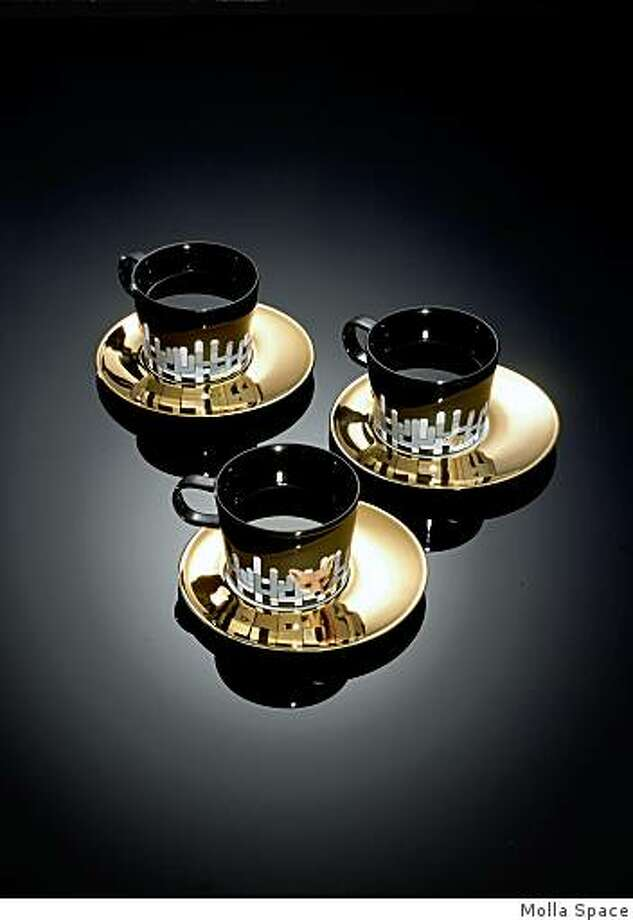 Mirage cup and saucer set, from Molla Space Photo: Molla Space