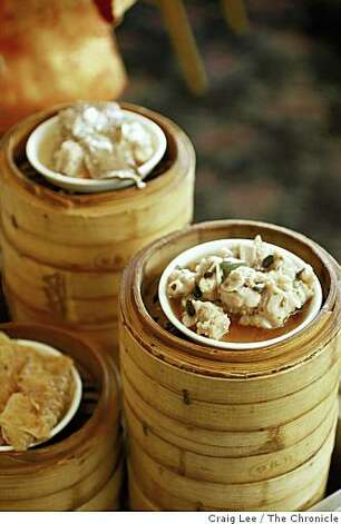 Dim Sum at House of Banquet restaurant in San Francisco, Calif., on January 19, 2009. Spareribs with Black Bean Sauce (right). Photo: Craig Lee, The Chronicle