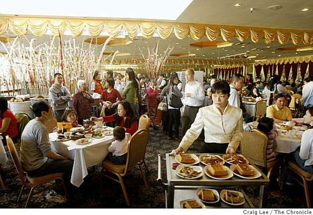 Dim Sum at House of Banquet restaurant in San Francisco, Calif., on January 19, 2009. Photo: Craig Lee, The Chronicle