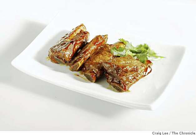 Ribs At most teahouses, you?ll likely find some variety of spareribs, either braised, grilled or steamed. Photo: Craig Lee, The Chronicle