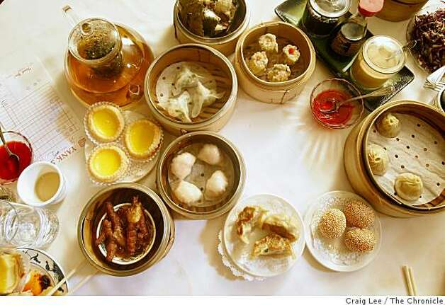 Dim sum at Yank Sing in San Francisco, Calif., on January 13, 2009. Photo: Craig Lee, The Chronicle