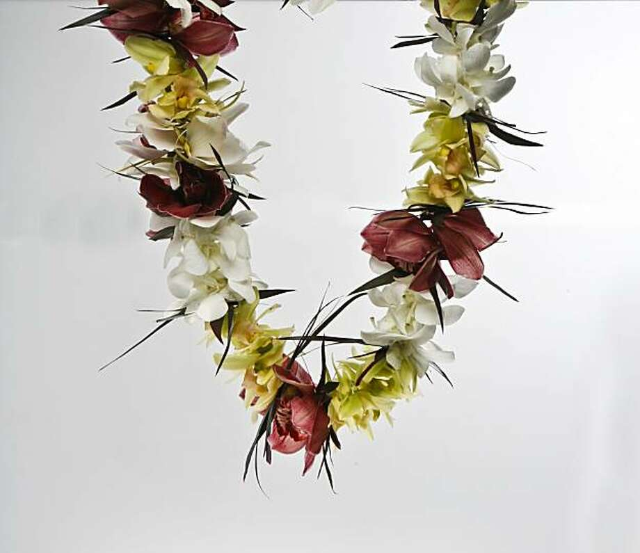 A lei. Photo: Russell Yip, The Chronicle