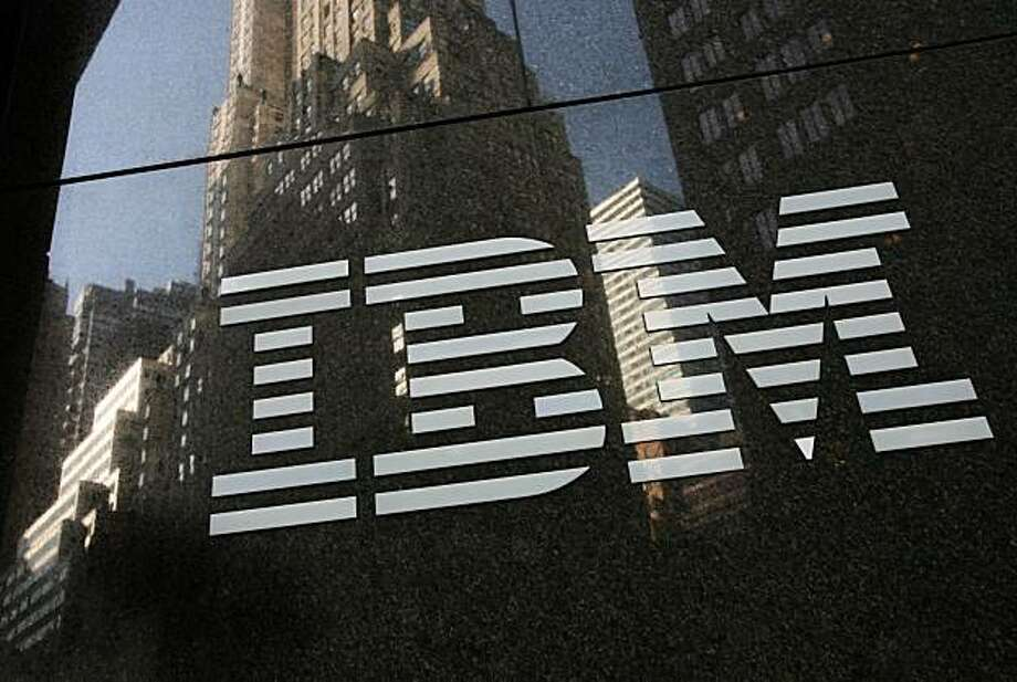 FILE - In this Nov. 24, 2008 file photo, an International Business Machines Corp. branch office is seen in New York. IBM Corp. releases quarterly earnings after the market close Monday, April 19, 2010. Photo: Mark Lennihan, AP