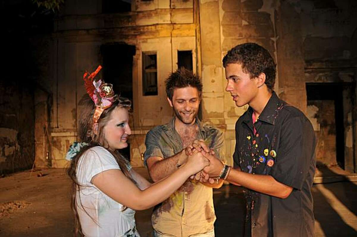 Belma Beglerovic, Harun Hasangic and Marko Matic perform in Much Ado About Nothing.