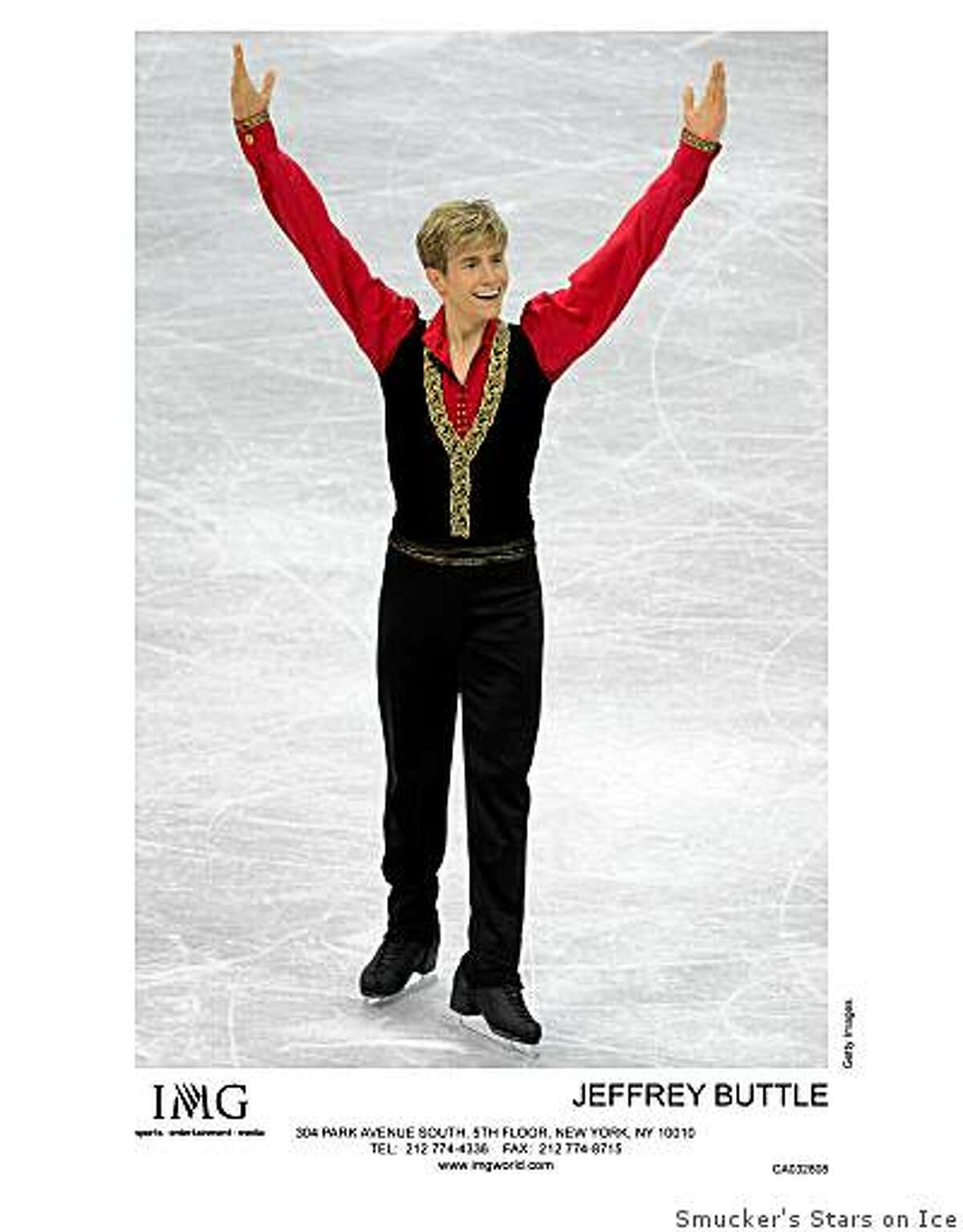 """Jeffrey Buttle will perform in """"On the Edge,"""" the Smucker's Stars on Ice show, at 7:30 p.m. Jan. 30 at HP Pavilion in San Jose. (2009)"""