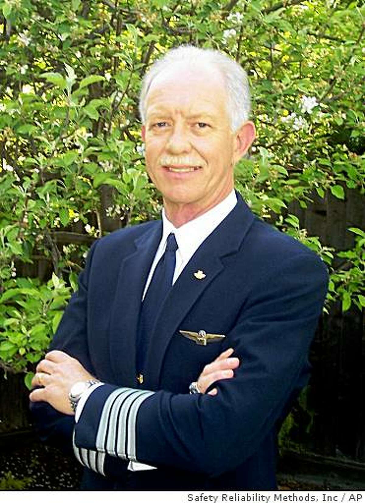 In this image taken from the website of Safety Reliability Methods, Inc., US Airways pilot Chelsey B. Sullenberger III is shown. An official speaking on condition of anonymity because the investigation was still ongoing, identified Sullenberger as the pilot of US Airways Flight 1549, which crash landed in the Hudson River in New York Thursday, Jan. 15, 2009, as Chelsey B. Sullenberger III. (AP Photo/Safety Reliability Methods, Inc.)