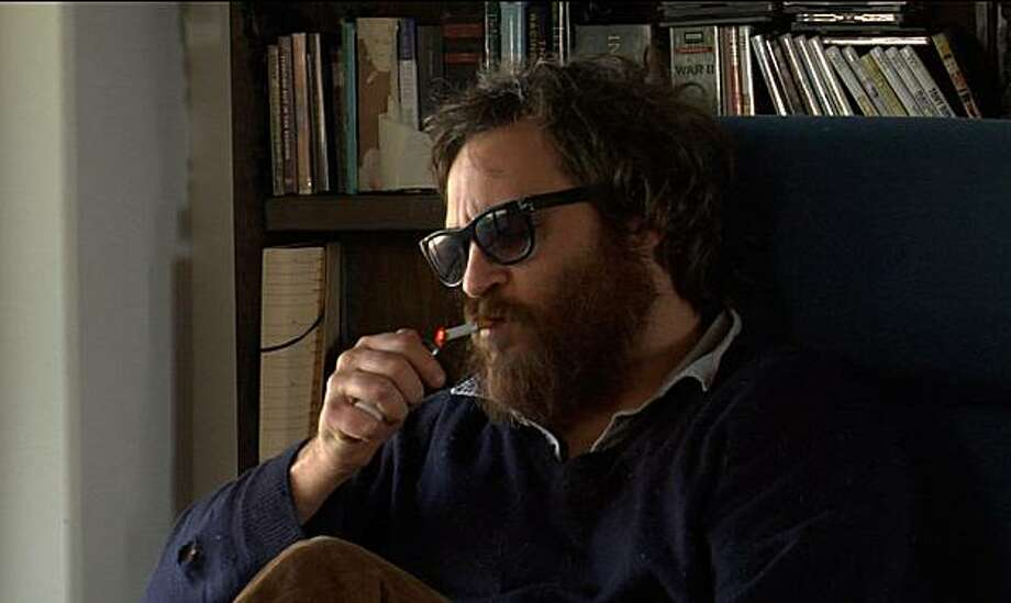 "In this film publicity image released by Magnolia Pictures, Joaquin Phoenix  is shown in the film, ""I'm Still Here."" Photo: AP"