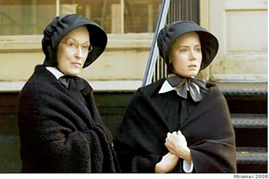 "Meryl Streep and Amy Adams in ""Doubt."" Photo: Miramax 2008"