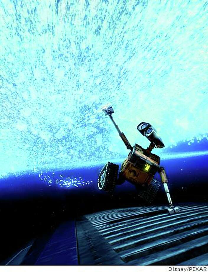 Disney/PIXAR's animated feature, Wall-E is the story of one robot's comic adventures as he chases his dream across the galaxy. Photo: Disney/PIXAR