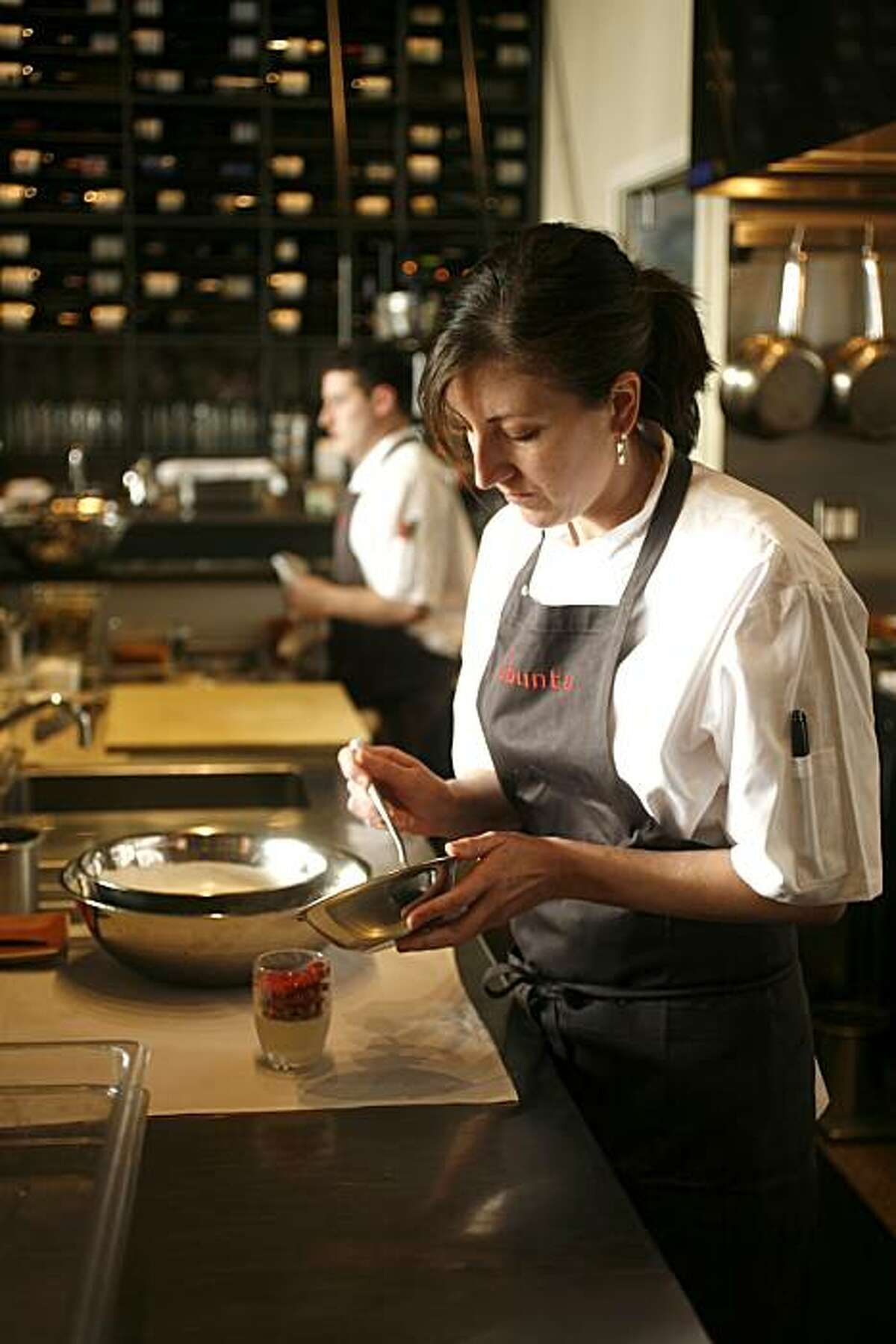 Deanie Hickox has been named pastry chef at Daniel Patterson's new Oakland restaurant, Plum. Craig Lee / The Chronicle