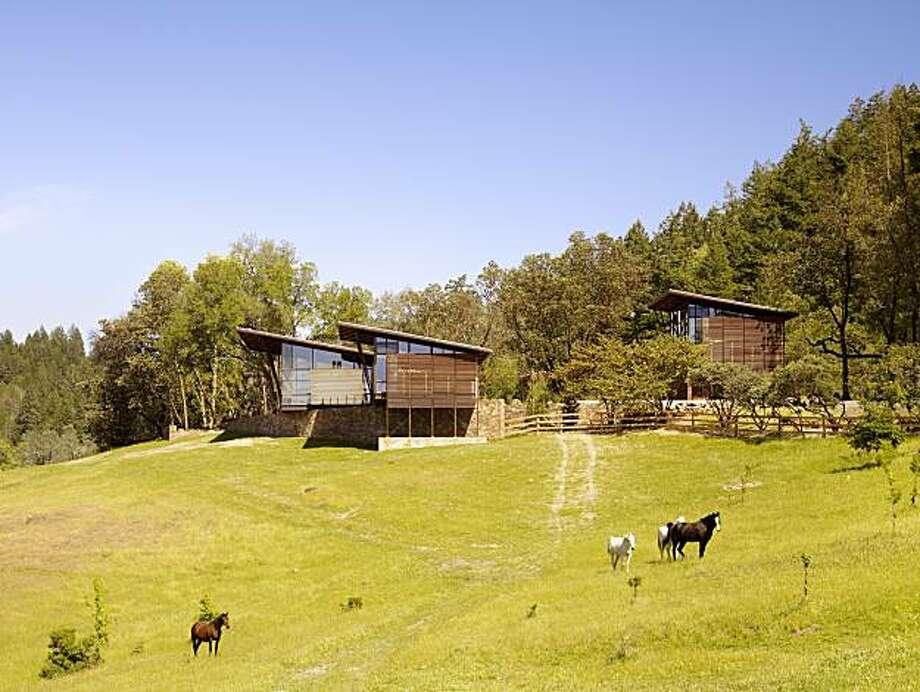 Alexander Valley Ranch Nielsen Schuh Architects Photo: © Matthew Millman