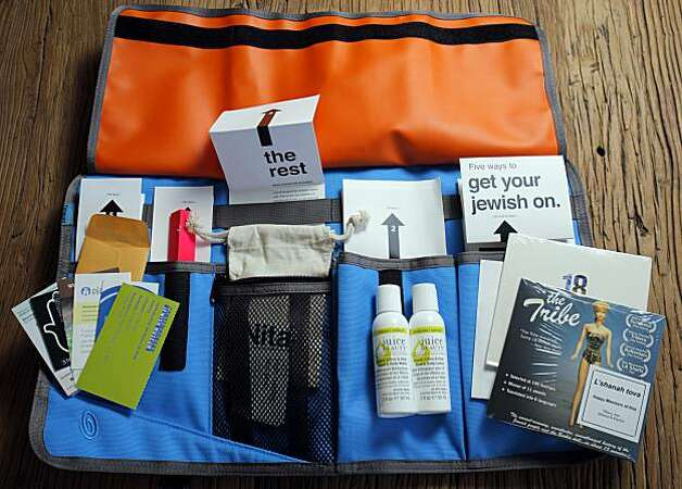 "Rabbi Noa Kushner has created a kit to help people observe jewish holidays, September 2, 2010, Stanford, Calif.  Kushner is trying to make learning Judaism fun with her ""nita"" movement. Photo: Adm Golub, The Chronicle"