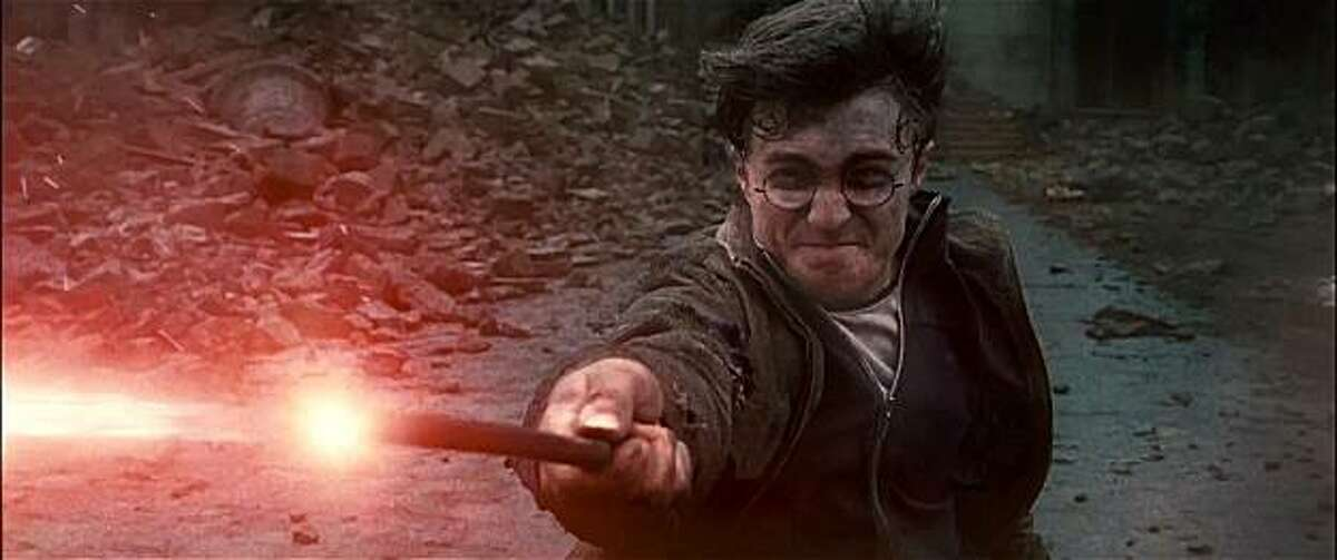 Daniel Radcliffe in HARRY POTTER AND THE DEATHLY HALLOWS -- PART 1