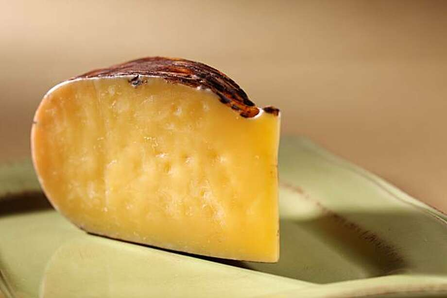 Dry Jack Rumiano cheese in San Francisco, Calif., on August 12, 2009. Photo: Craig Lee, The Chronicle