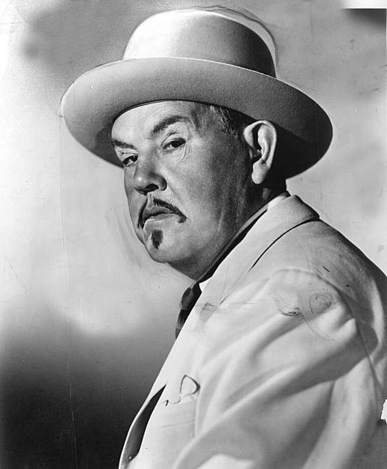 "Sidney Toler starred in Monogram's ""Charlie Chan"" pictures. 1949 Photo: Chronicle Archives"