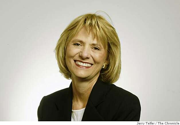 Carol Bartz, CEO of Autodesk.Event on 1/22/04 in San Francisco. Photo: Jerry Telfer, The Chronicle