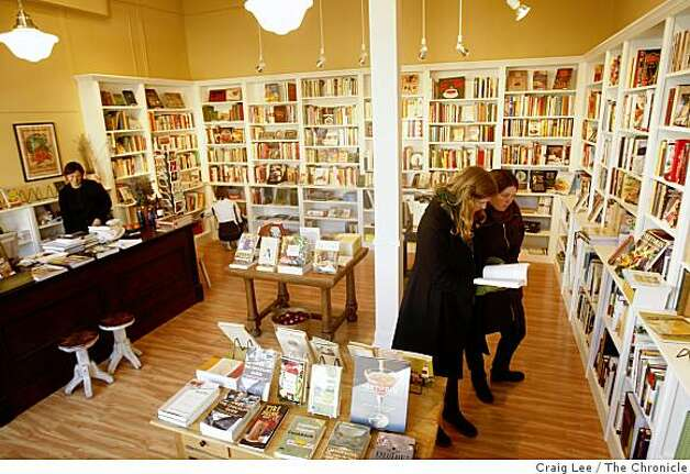 Omnivore, a new bookstore that is devoted to new and antiquarian cookbooks in San Francisco, Calif., on January 7, 2009. Photo: Craig Lee, The Chronicle