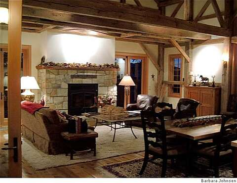 Designer's not-so-old-fashioned barn raising - SFGate