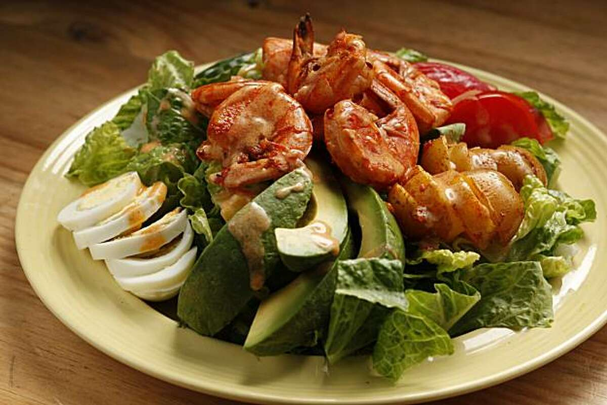 Big Summer Shrimp Salad in San Francisco, Calif., on August 18, 2010. Food styled by Natalie Knight.