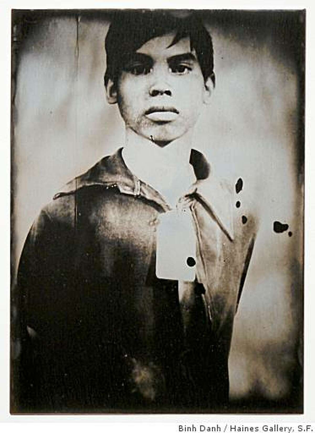 """""""Ghost of Tuol Sleng Genocide Museum #1"""" (2008) daguerreotype by Binh Danh"""